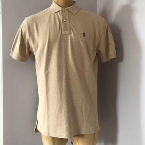 POLO Ralph Lauren Tan Brown T-Shirt Men's Size M